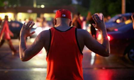 Man Working on A Building Comes Forward & Says Michael Brown's Hands Were Up & He Had Retreated