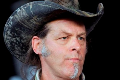 """Ted Nugent Slams 'Ferguson Thugs' And The 'Plague Of Black Violence; He Also Called Barrack Obama """"subhuman mongrel"""""""