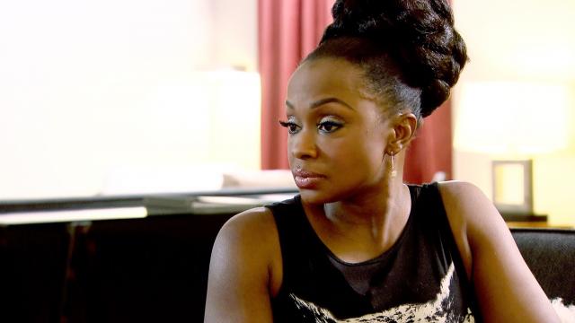 Phaedra Parks Defends Derek J After He's Accused of Stealing Used Weave