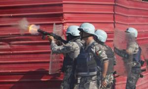 BREAKING NEWS- United Nations Peacekeeper Soldiers Fire on Protestors in Haiti