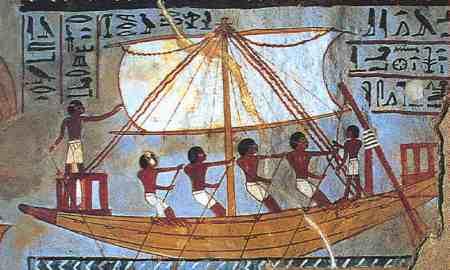 egyptian ships
