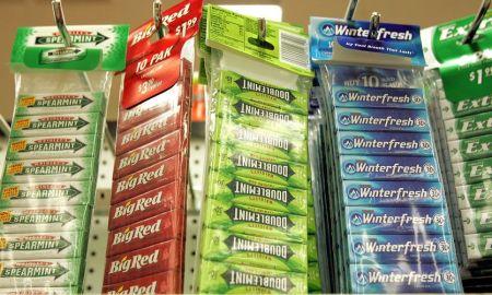 gum theft