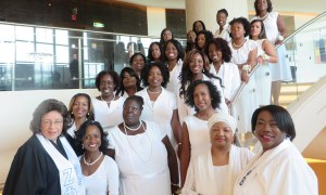 Zeta Phi Beta Sorority, Inc. Charters a Chapter in the Middle East!!!