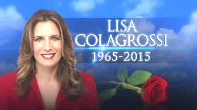 EYEWITNESS NEWS REPORTER LISA COLAGROSSI HAS DIED OF AN APPARENT BRAIN HEMORRHAGE