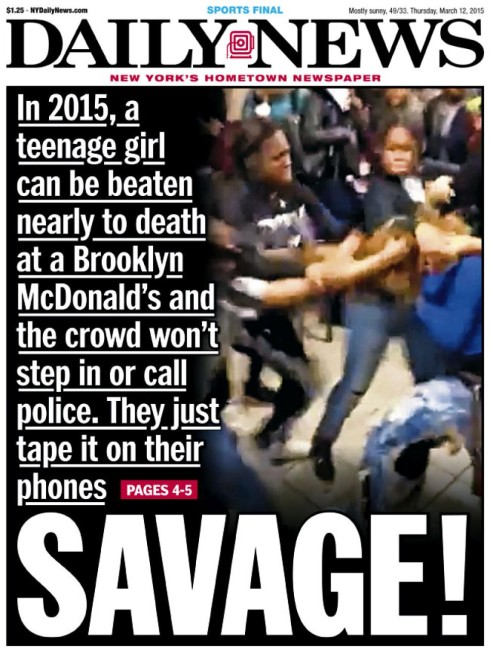 Victim of Brooklyn McDonald's beatdown brags about newfound fame on Facebook (WARNING: GRAPHIC LANGUAGE AND VIOLENT CONTENT)