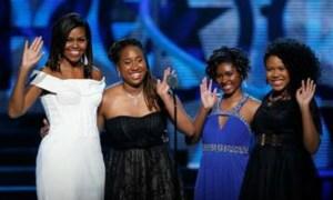 Michelle Obama declares 'Black Girls Rock!'