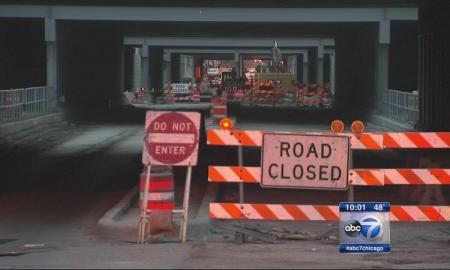 fake roadblock