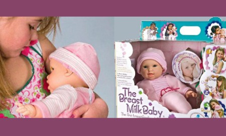 Breast Feeding Doll: Is This Appropriate For Your Daughter Or Do You Find It Offensive?
