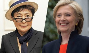 Yoko-Ono Calims She Had An Affair With Hillary Clinton In The 70's
