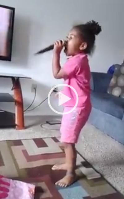 [Video] Out Of The Mouth Of Babes:  Little Girl Preaches The Gospel Could She Be A Future Prophetess?
