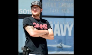Armed civilian
