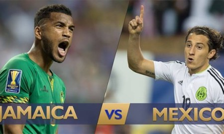 Sports: Jamaica Verses Mexico In The Gold Cup Final Sunday July 26, 2015