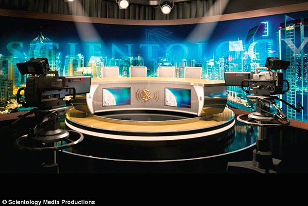 scientology church media room