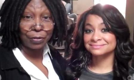 whoopi and raven