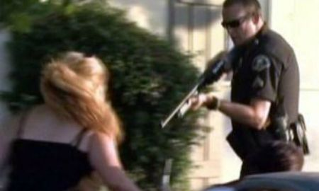 Anaheim Police Shoot At Women & Children While Unleashing K- Dogs On Peaceful Protesters