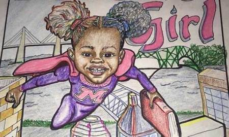 7- Year Old Girl Wins $16K For Her Comic Book About A Little Black Girl With Magic Afro Puffs