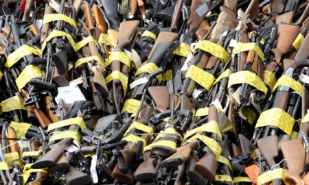 Police Finds 1200 Guns In A Dead Man's Home