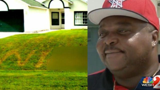 racial-slur-front-lawn Courtney Gordon