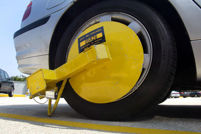 When Can City Of Chicago Put Boot On Car
