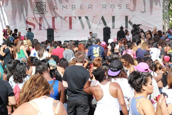 Amber Rose's Slutwalk Event Lifting Women Up Was A Huge Success!!