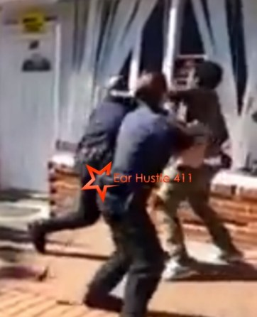 Man In Baltimore Sucker Punches Police Officer Knocking Him Out! [Video]