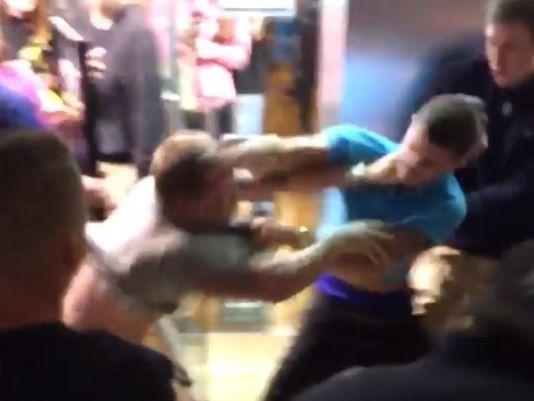 mall fight