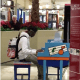 Young Black Teen Wow's Mall Shoppers As He Does An Impromptu Piano Selection