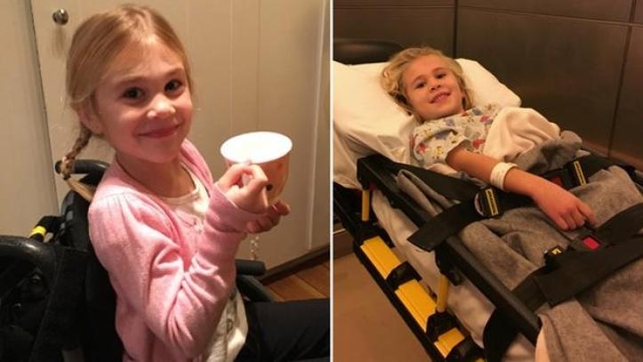 5-Year Old Gets Paralyzed Doing Backbends In Her Livingroom