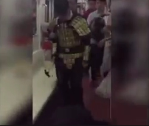 China: Man Attacks Train Passenger With Hammer For Spitting Seeds On The Train & Refusing To Pick Them Up