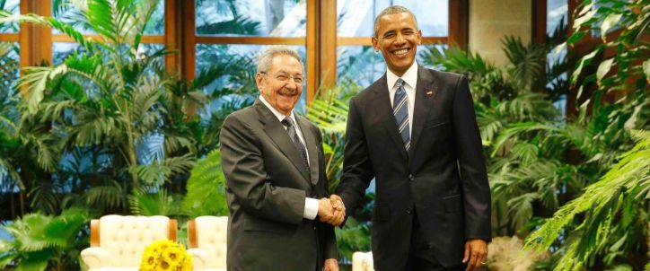Barrack Obama Gets A Grand Greeting From Cuban President Fidel Castro