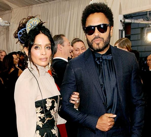 What a Striking Resemblance: Zoe Kravitz & Her Boyfriend Looks Like Her Mom & Dad Lisa Bonet & Lenny Kravitz