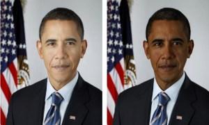 Obama skin change