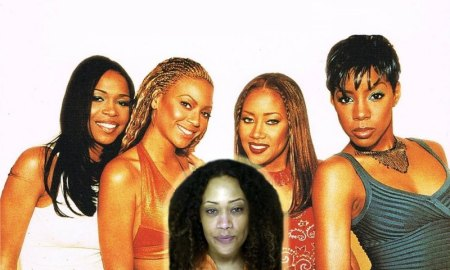 Farrah Franklin with Destiny's Child in 2000. Photo Credit: The Daily Beast