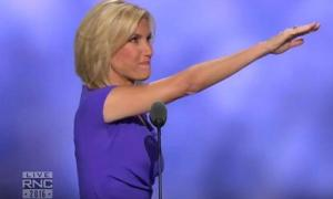 Laura Ingraham Ends Her Speech By What Appears To Be A Nazi Heil Hitler Salute At The Republican Convention