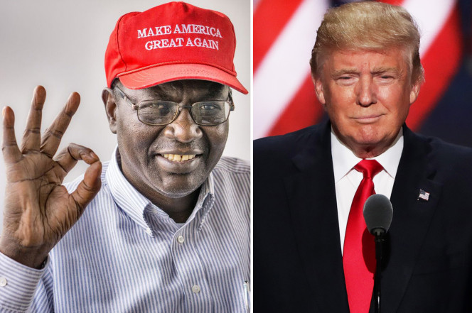 President Obama's Half Brother Says He's Voting For Donald Trump