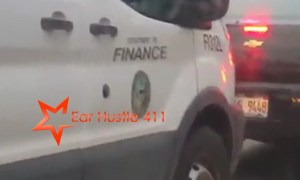City Of Chicago Boot Man Chases Citizen Down The Street Attempting To Boot Their Car All While Illegally Running Through Red Lights