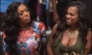 Kandi Burruss & Porsha Williams Nearly Comes To Blows After A Heated Agrument While Filming On The Set Of RHOA!