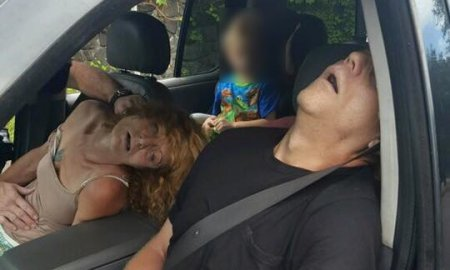 Police Posted A Shocking Photo Of Couple Who Overdosed In Front Of 4-Year Old Child