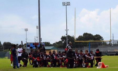 Texas Youth Football Team Has Their Whole Season Season Cancelled For Taking The Knee During The National Anthem