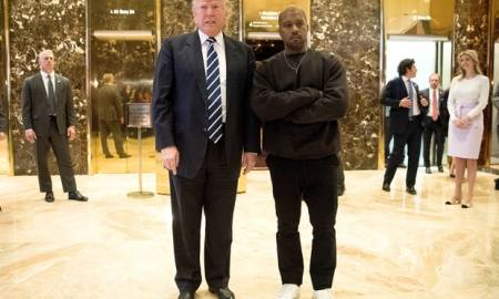 [Video] Kanye West Meets With Donald Trump In What Appears As An Awkward Moment