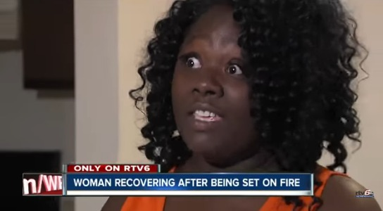 Man Brings Wife To Girlfriends House To Confront Her & Wife Sets Girlfriend On Fire Husband Watches & Does Nothing