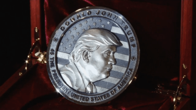 Trump Claims No Involvement With The Russians Yet The Russians Mint 'In Trump We Trust' Coin Ahead Of U.S. Inauguration
