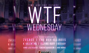 WTF WEDNESDAY FUNDRAISER CONCERT Flyer