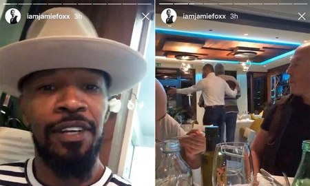 Photo Credit: Jamie Foxx's Instagram