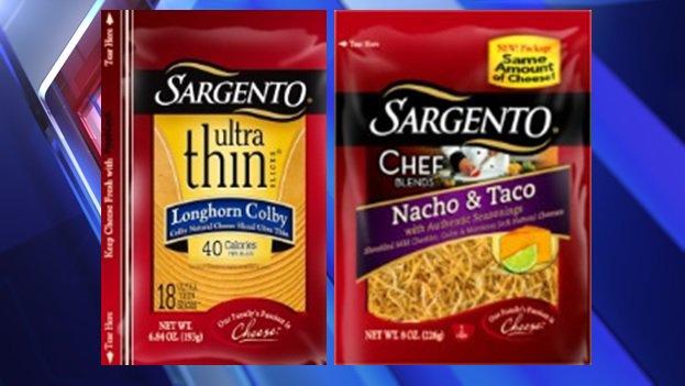 sargento cheese recall list