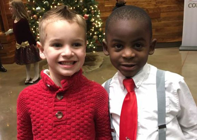 Pre-Schoolers Get Identical Haircuts So Their Teacher Could Not Tell Them Apart, However One Is Black & One Is White