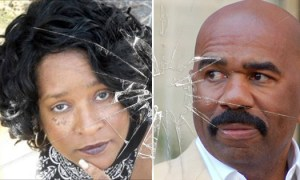 VIDEO] Steve Harvey, TMZ, Fox News & Harvey's Attorney Is Put On Blast By Activist Essie Berry She Calls Steve A Bold Face Liar!