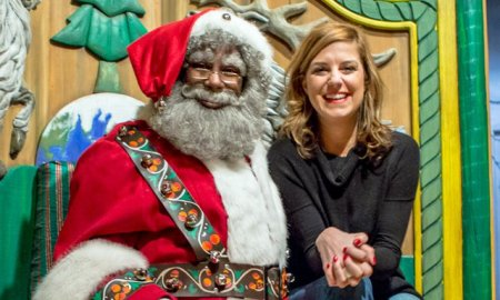Did You Know That Macy's In New York Hides Their Black Santa In A Secret Room Which The Refer To As Alternate Santa?