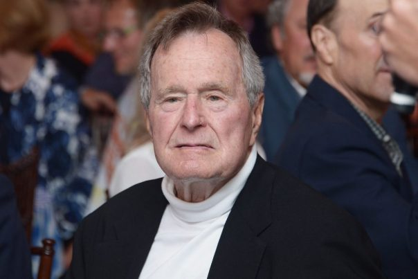 Days After Burying His Wife, Former President George H.W Bush Hospitalized For Infection
