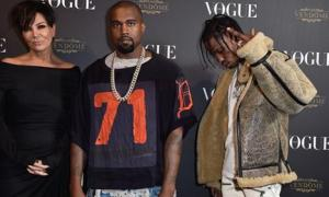 Sources Say Kris Jenner Is Managing Her Son In Law Kanye West & Kylie's Baby Daddy Rapper Travis Scott